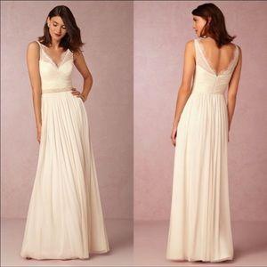 BHLDN Hitherto Fleur Dress in Ivory NWOT
